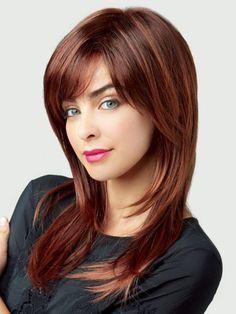 Resultado de imagen para cortes de cabello recto largo