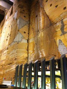 An underground bar... why not...!!!  @ MONA (Museum of Old & New Art - Hobart Tasmania Australia)