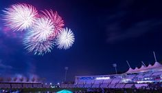 Fireworks at The Ageas Bowl  03/11