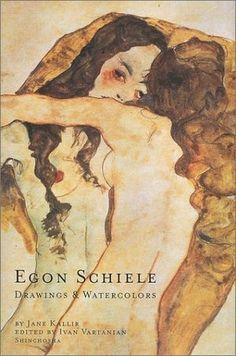 Egon Schiele - Two Women Embracing, Drawings: Ink, Watercolors Egon Schiele Drawings, Ligne Claire, A Level Art, Gustav Klimt, Book Illustration, Figurative Art, Art Inspo, Painting & Drawing, Art Reference