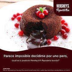 Comparte con nosotros tu ideas y disfruta de Hershey's® Repostería. #Hersheys #Chocolate #InspiraSonrisas #Repostería #Postres #Receta#DIY #Recetario #Delicioso