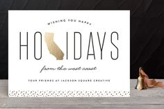West Coast Greetings Business Holiday Cards by Eri... | Minted
