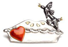Blackbirds in a Pie Brooch Blackbirds, Craft Fairs, Arts And Crafts, Pie, My Favorite Things, Enamel, Prints, Silver, Stuff To Buy