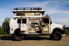 Sportsmobile Custom Camper Vans - Pre-owned Vans - California 9 7 4 8 9 4x4 Camper Van, 4x4 Van, Camper Life, Truck Camper, Custom Camper Vans, Custom Campers, Vw Bus, Airstream, Travel Camper