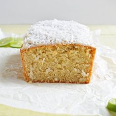 Coconut Lime Pound Cake- A perfect Springtime treat for Easter!