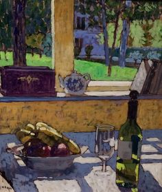 Still Life and Garden by Mike Hall from Bell Fine Art, Winchester, Hampshire, UK