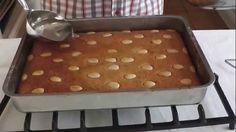 Greek Sweets, Greek Desserts, Greek Recipes, Cyprus Food, Semolina Cake, No Bake Cake, Deserts, Dishes, Baking