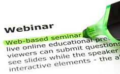 3 Steps to Using a Blog to Produce Profitable Webinars - guest post by @Daniel Hall