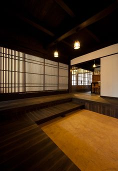 Mc Khun saved to 9 3 5 7 5 Japanese Style House, Traditional Japanese House, Japanese Modern, Japanese Interior Design, Japanese Design, Japan Architecture, Architecture Design, Zen Interiors, Japanese Buildings
