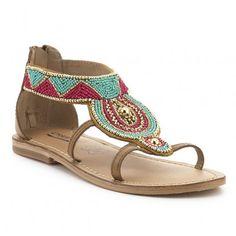 Sandalia étnica CREEKS Shoes, Fashion, Vacations, Shoes Sandals, Winter, Trends, Moda, Zapatos, Shoes Outlet