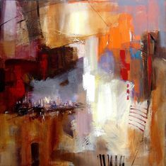 Anna Razumovskaya Sounds of City 3 Painting