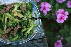 Wandering Chopsticks: Vietnamese Food, Recipes, and More: Chinese Beef and Broccoli Stir-fry