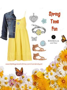 Mix and Match your clothes for a spring time summery look with Magnolia and Vine Jewelry and Accessories. www.MyMagnoliaAndVine.com/335 to order. Mention this page and get a free gift from me.
