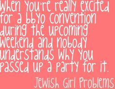BBYO #JewishGirlProblems