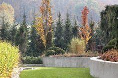 Jesienny ogród w Beskidach - zdjęcia aranżacji   Weranda.pl