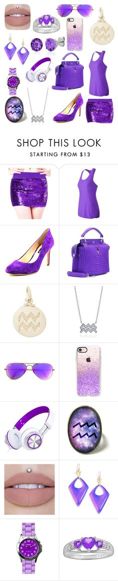 """""""Aquarius Casual"""" by xxshemurrqueenxx ❤ liked on Polyvore featuring Alivila.Y Fashion, New Balance, INC International Concepts, Fendi, Rembrandt Charms, BERRICLE, Ray-Ban, Casetify, Alexis Bittar and Dakota"""