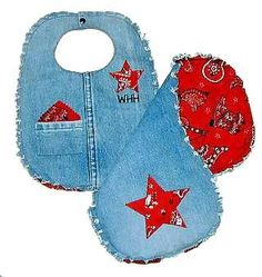 baby bibs, denim - Bing Images
