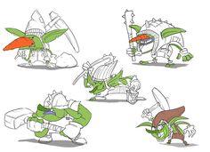 Goblin concept art for the LFG & The Fork of Truth game