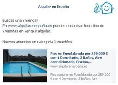 Buscas una vivienda? En www.alquilarenespaña.es puedes encontrar todo tipo de viviendas en venta y alquiler.  Nuevos anuncios en categoría Inmuebles