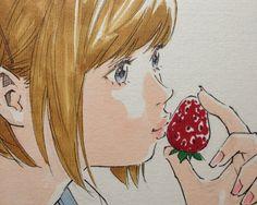 イチゴにKiss