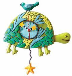 Allen Designs Marshell Turtle Pendulum Clock