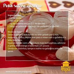 A receita dessa semana fez o maior sucesso! Fácil e rápido de fazer, delicioso de comer. #petirsuissecaseiro #receitadasemana