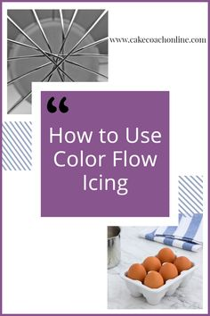 Master the skill of color flow icing takes practice. But once you have this cracked - the design opportunities are endless. For cake decorating and cookies and any other bakes you can think of. Read our blog to find out more. And why not add this pin to your own Cakes Board too?