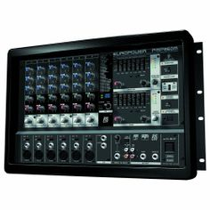 Behringer EUROPOWER PMP960M 900-Watt  6-Channel Powered Mixer by Behringer. $338.00. BEHRINGER EUROPOWER PMP960M  900-Watt 6-Channel Powered Mixer with Multi-FX Processor and FBQ Feedback Detection System  Ultra-compact 450-Watt dual mono powered mixer  Revolutionary amplifier technology: enormous power, incredible sonic performance and super-light weight  Ultra-compact design at nearly half the depth and weight of conventional powered mixers means no more lugging around...