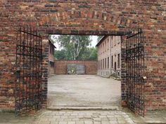 The execution wall at Auschwitz today