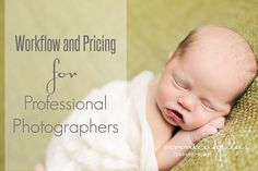 Workflow and Pricing for Professional Photographers How do you manage your photography client workflow? Here are tips from first contact to delivery of prints. Photography Pricing, Photography Tools, Photography Marketing, Photography Packaging, Photography Lessons, Photography Business, Photography Tutorials, Newborn Photography, Family Photography