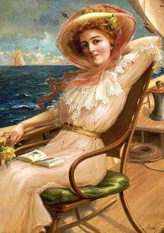 Pinturas de Emile Vernon! « Artes & Humor de Mulher
