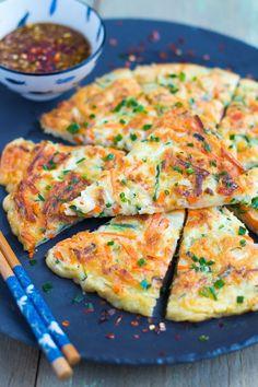 Galette coréenne aux légumes – Buchimgae (부침개)