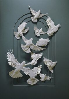 Doves. Would love to have a couple of those on the back