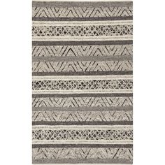 Hand-Woven Roger Chevron Wool Rug (8' x 10') - Overstock Shopping - Great Deals on 7x9 - 10x14 Rugs