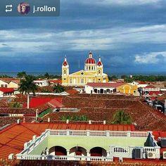 From @j.rollon: La Catedral de #Granada #Nicaragua #ILoveGranada #AmoGranada #Travel