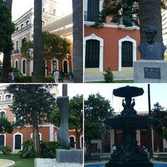 Jardines de la Casa Colón #SaboraHuelva @aunahorade  @grupoadarsa @Huelvagastro17 @Cruzcampo @RedGuadalinfo @huelvaturismo @AytoHuelva @DipuHU