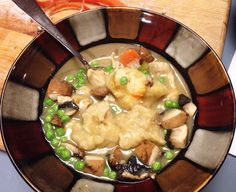 Mark Bittman's Chicken and Dumplings with Lots of Peas