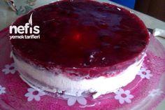 Nefis 10 Dakika Pastası (Vişneli Soğuk Pasta) 2