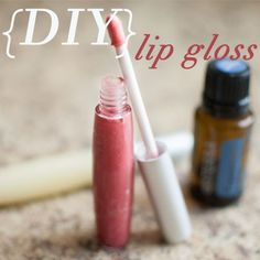 DIY natural lip gloss