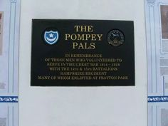 Pompey's new World War 1 memorial