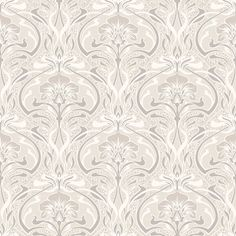 Embellished with subtle metallics, the Flora Nouveau design adds a touch of class to your home.  Originally designed around 1910, the elegant, eye-catching pattern epitomised a shift in people's decorating preferences at that time. Bold, attention-grabbing designs were all the rage - and this is still the case more than 100 years later. Inspired by natural forms and the curved lines of plants and flowers, this collection brings the outdoors in, in the same way as the first Art Nouveau pat...