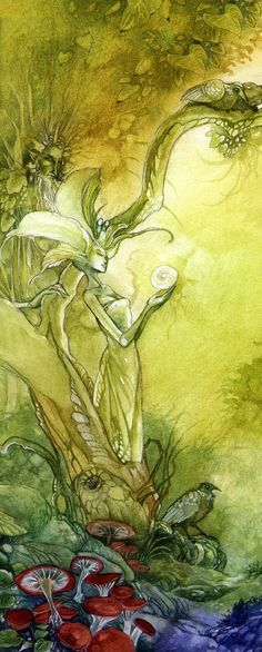 I am the Lorax, I speak for the trees, for the trees have no tongues. Dr. Suess - Art Stephanie Pui-Mun Law - The Tree Spirit