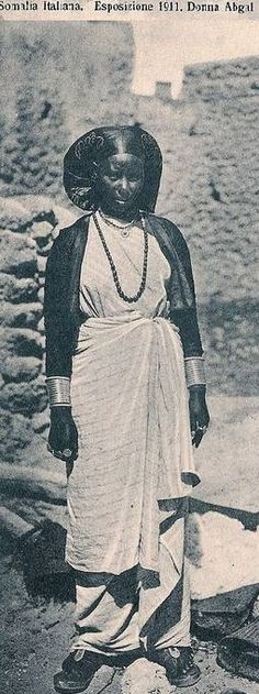 Somali woman in early African Tribes, African Diaspora, African Women, African Culture, African History, Fashion Installation, Horn Of Africa, Tribal Women, We Are The World