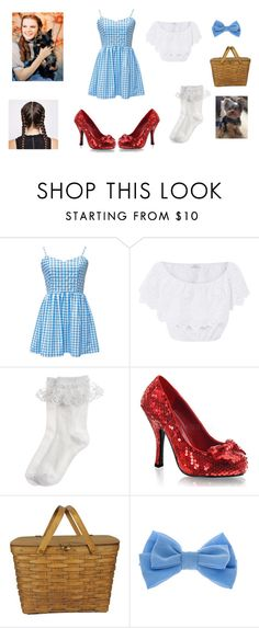Designer Clothes, Shoes & Bags for Women Diy Dorthy Costume, Dorothy Halloween Costume, Halloween Costumes To Make, Diy Halloween Costumes, Halloween Ideas, Awesome Costumes, Wizard Of Oz Costumes Diy, Hollween Costumes, Costumes For Women
