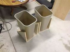 Post with 88 votes and 191911 views. Shared by cfinke. A tilt-out garbage and recycling cabinet. Trash Can Cabinet, Cabinet Drawers, Recycling Storage, Recycling Center, Recycling Ideas, Craft Cabinet, Laundry Hamper, Laundry Room, Laundry Sorter