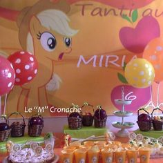Festa di compleanno: Apple Jack Party - My Little Pony