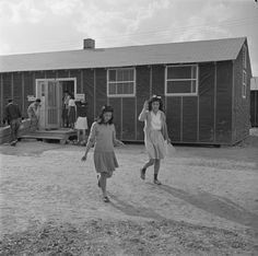 Field clinic building, Jerome War Relocation Center, Arkansas, 17 Nov 1942 (US National Archives)
