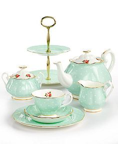 Royal Albert Old Country Roses Polka Rose Collection - Fine China - Dining & Entertaining - Macy's