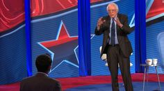 Sanders on Trump: 'This guy is a fraud'  Vermont Sen. Bernie Sanders accused President Donald Trump of falling short of commitments to middle-class voters, pointing to his Cabinet and senior advisers' ties to Wall Street.