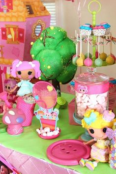 Sew Cute Lalaloopsy Birthday Party via Kara's Party Ideas KarasPartyIdeas.com The Place for ALL Things Party! #lalaloopsyparty #lalaloopsy #lalaloopsydoll #dollparty #girlpartyideas (18)